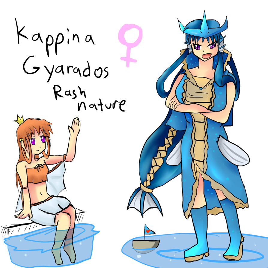 Kappina Gijinka Update by xXScarletStarletXx