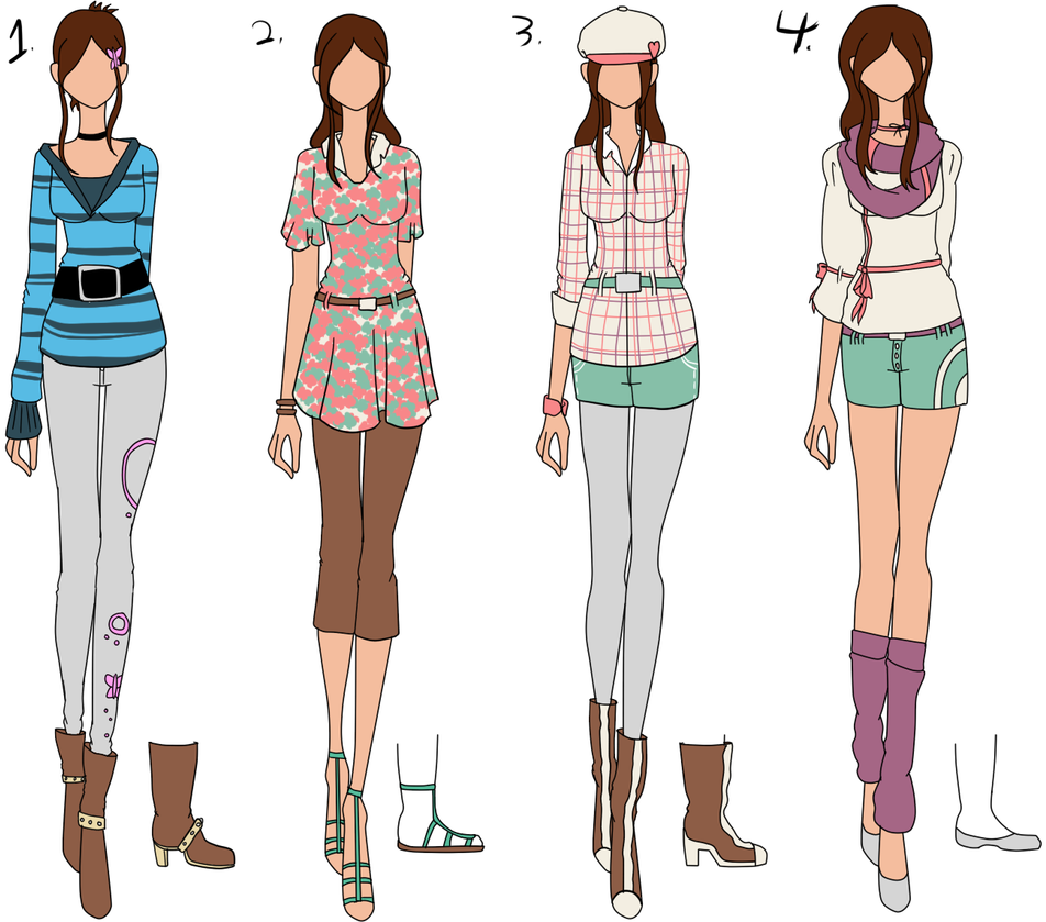 Chachi 39 S Fashion Design Contest Batch 1 By Bubble Goom On