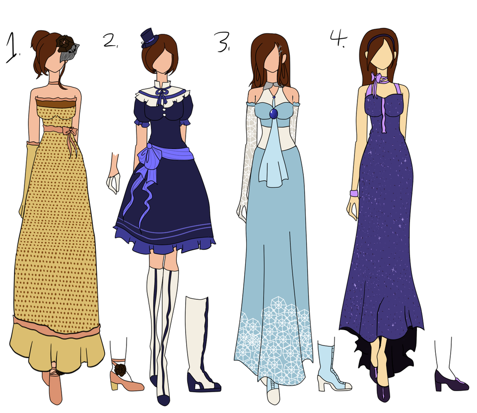 Chachi 39 S Fashion Design Contest Batch 2 By Bubble Goom On