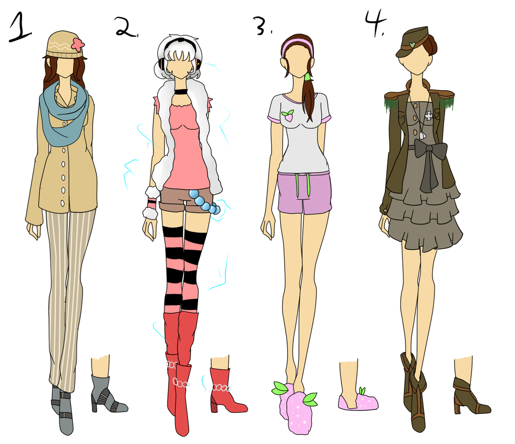 Chachi 39 S Fashion Design Contest Batch 4 By Bubble Goom On