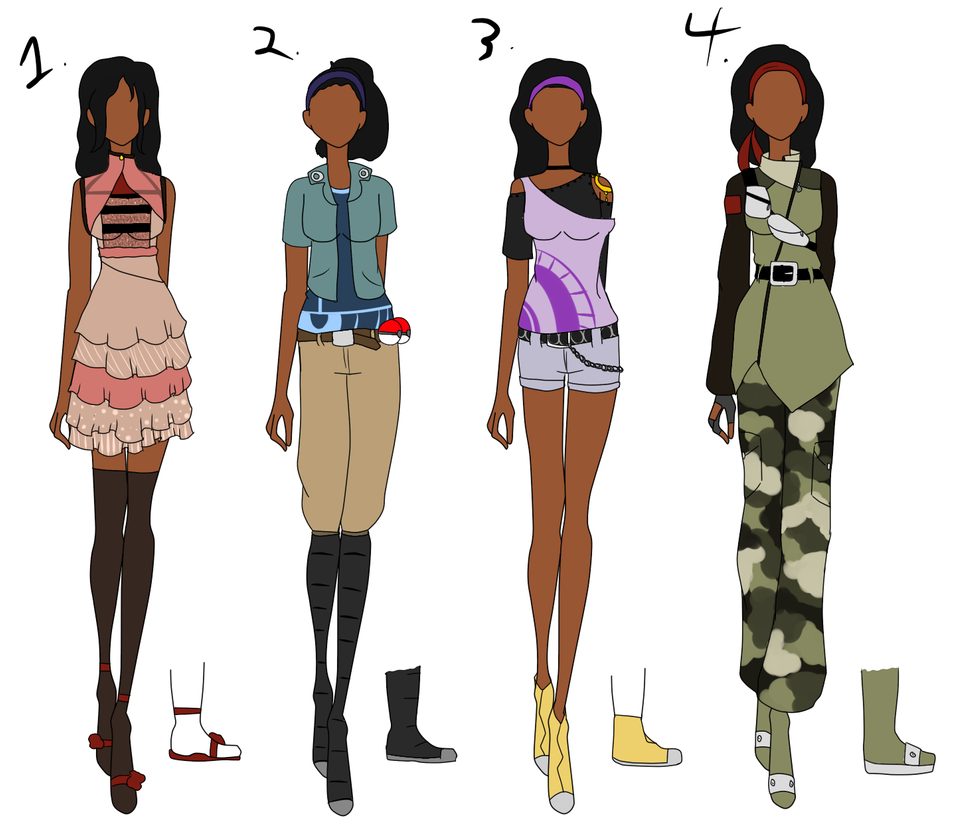 Chachi 39 S Fashion Design Contest Batch 6 By Bubble Goom On