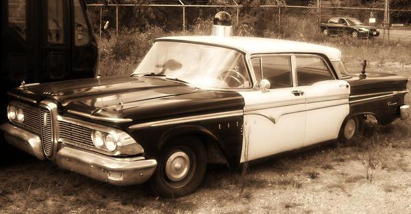 Edsel Squad Car by Hammerhead1135