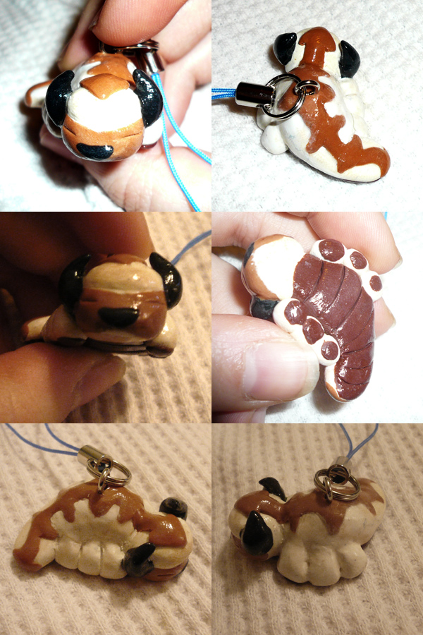 Appa Cellcharm by ChibiSilverWings