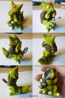 Kadabra Sculpt by ChibiSilverWings