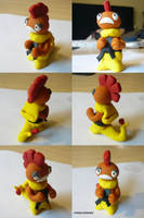 Scrafty with Expert Belt by ChibiSilverWings