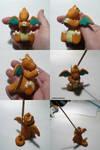 Dragonite Jizo+ Incense Burner by ChibiSilverWings