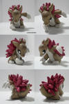 Shiny Sandslash Sculpture by ChibiSilverWings