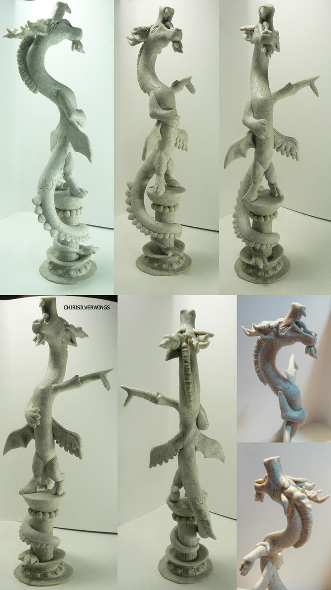 Discord Sculpture by ChibiSilverWings