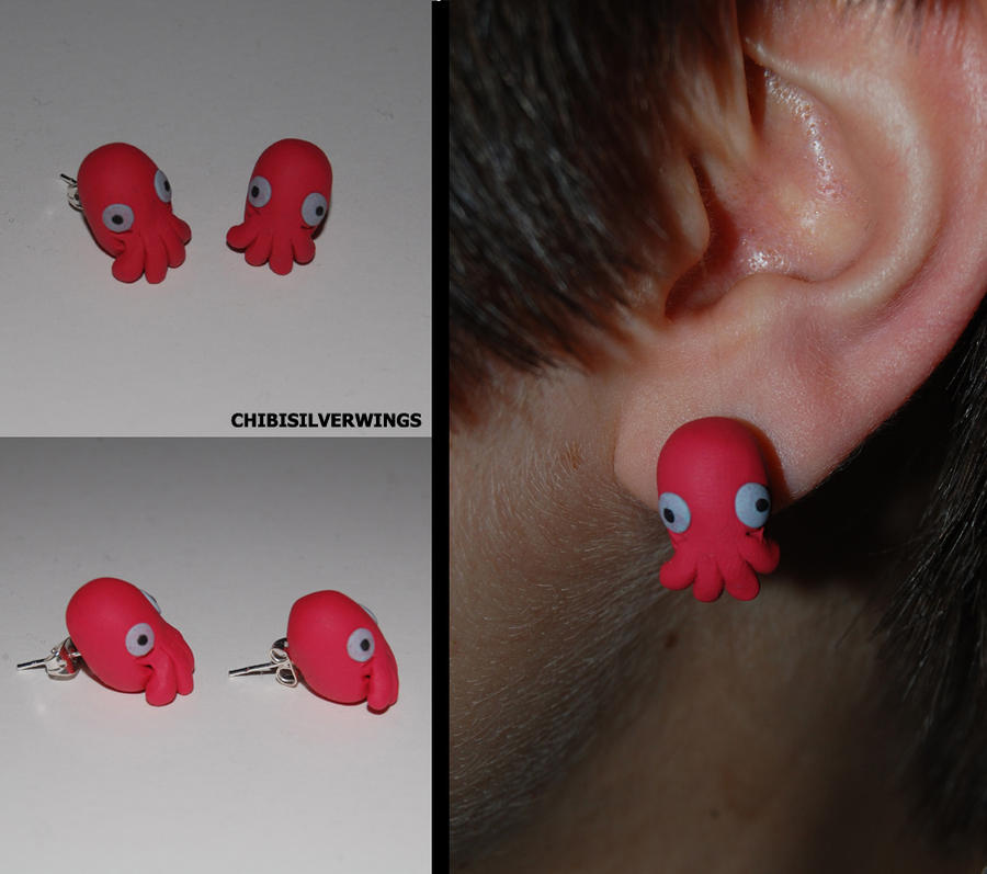 WHY NOT ZOIDBERG Earrings by ChibiSilverWings