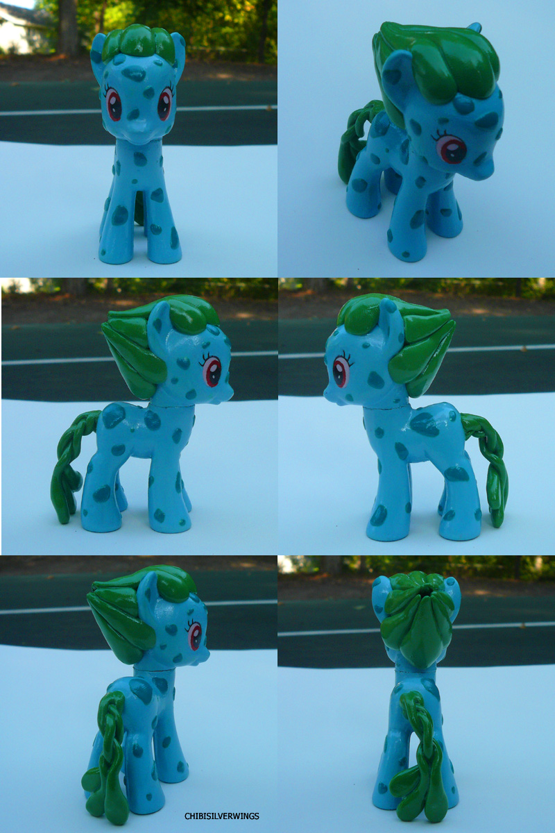 Bulbasaur Ponymon by ChibiSilverWings