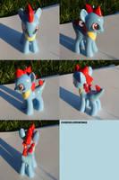 Totodile Ponymon by ChibiSilverWings