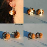 Rammy Earrings by ChibiSilverWings