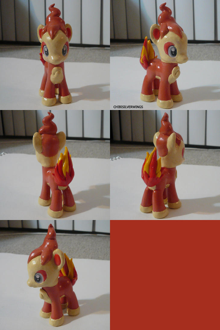 Chimchar Ponymon by ChibiSilverWings