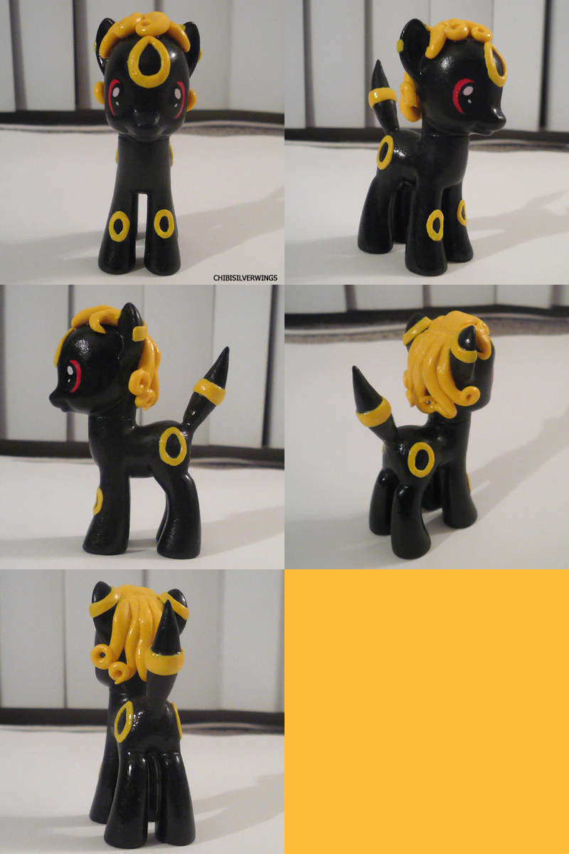 Umbreon Ponymon by ChibiSilverWings