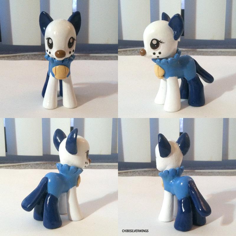 Oshawott Ponymon by ChibiSilverWings