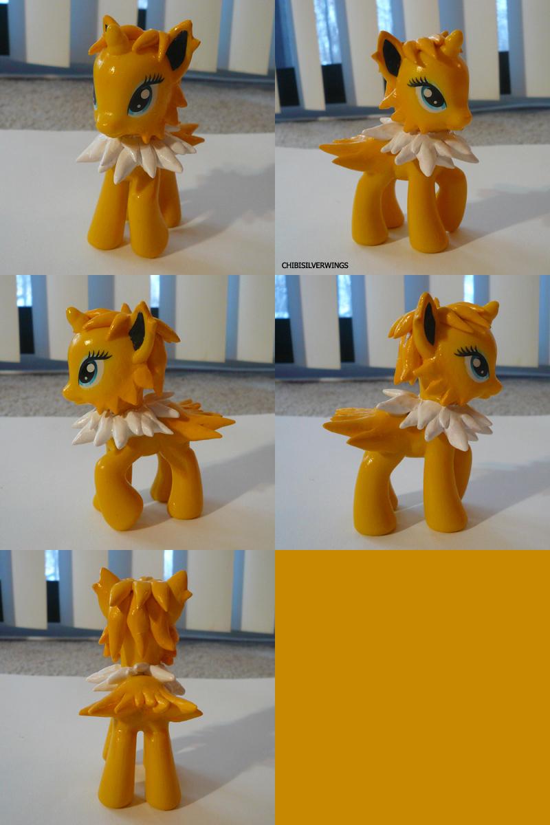 Jolteon Ponymon by ChibiSilverWings