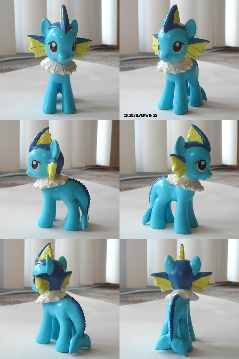 Vaporeon Ponymon by ChibiSilverWings