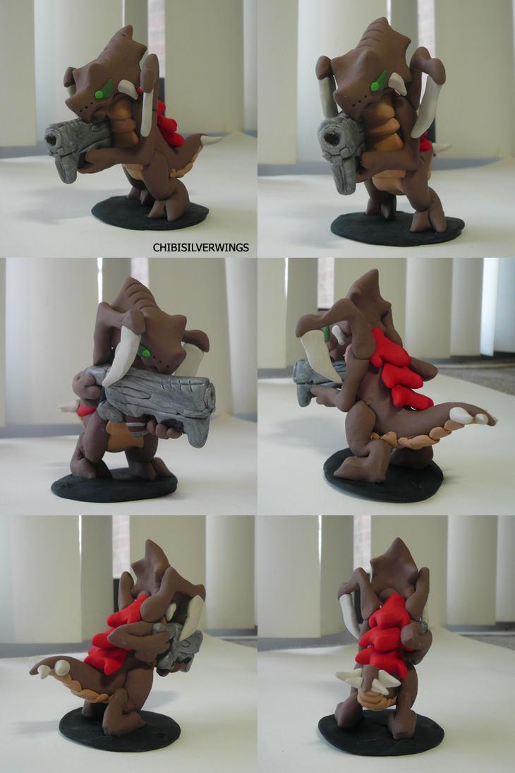 Zano the Zergling by ChibiSilverWings