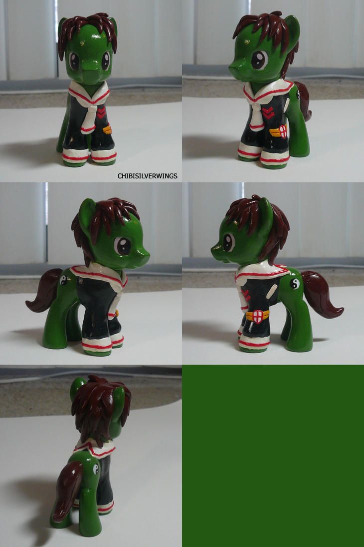 Syaoran CCS Pony by ChibiSilverWings