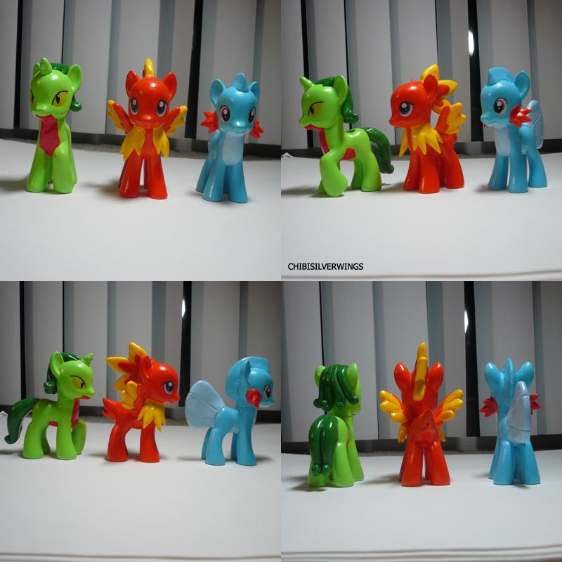 Gen 3 Starter Ponymon by ChibiSilverWings