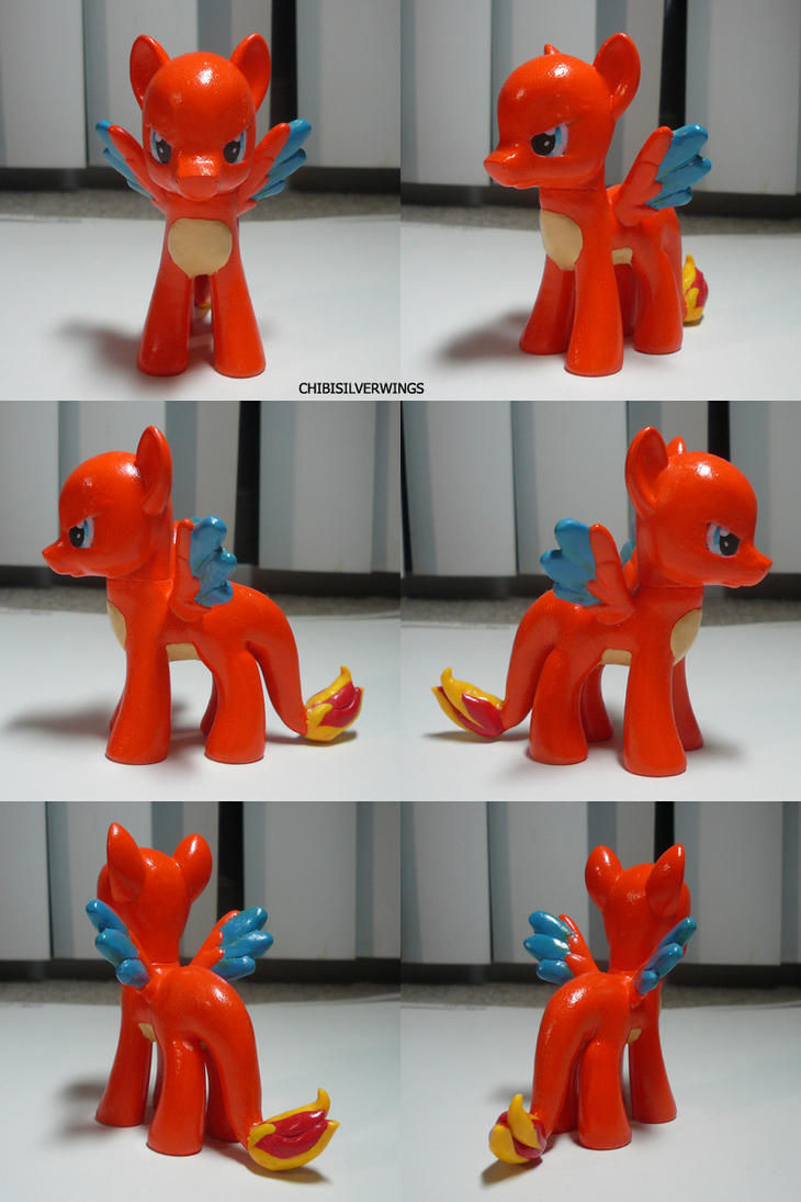 Charizard Ponymon by ChibiSilverWings