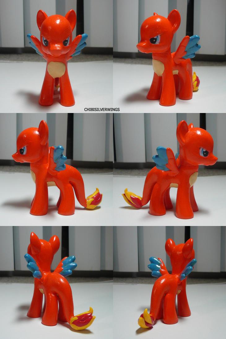 Charizard Ponymon by ChibiSilverWings