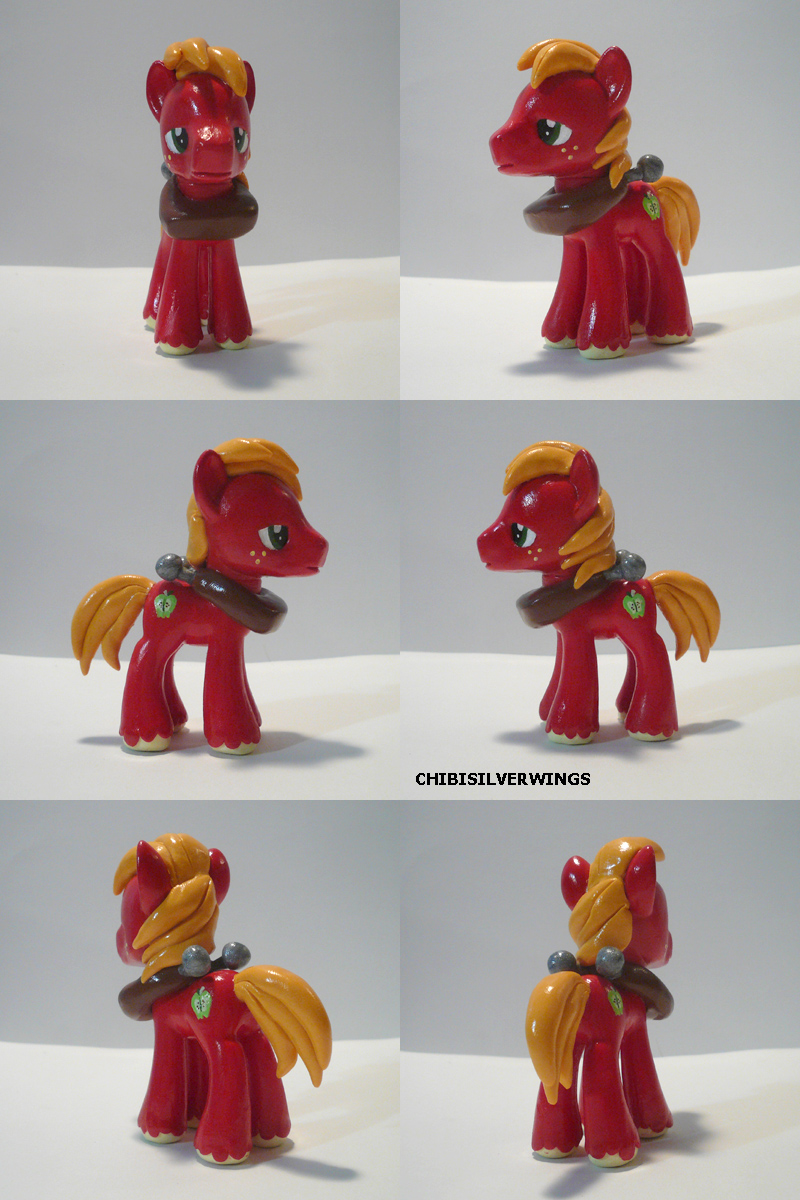 Big Mac Custom Pony by ChibiSilverWings