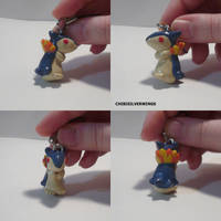 Typhlosion Charm by ChibiSilverWings