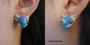 Stormfly (Deadly Nadder) Earrings