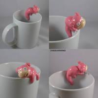 Slowpoke Mug by ChibiSilverWings