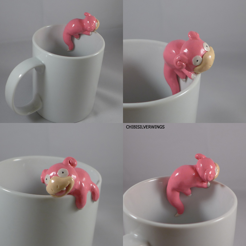 Slowpoke Mug by ChibiSilverWings
