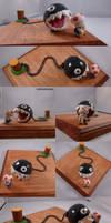 Toad Meets Chain Chomp Diorama