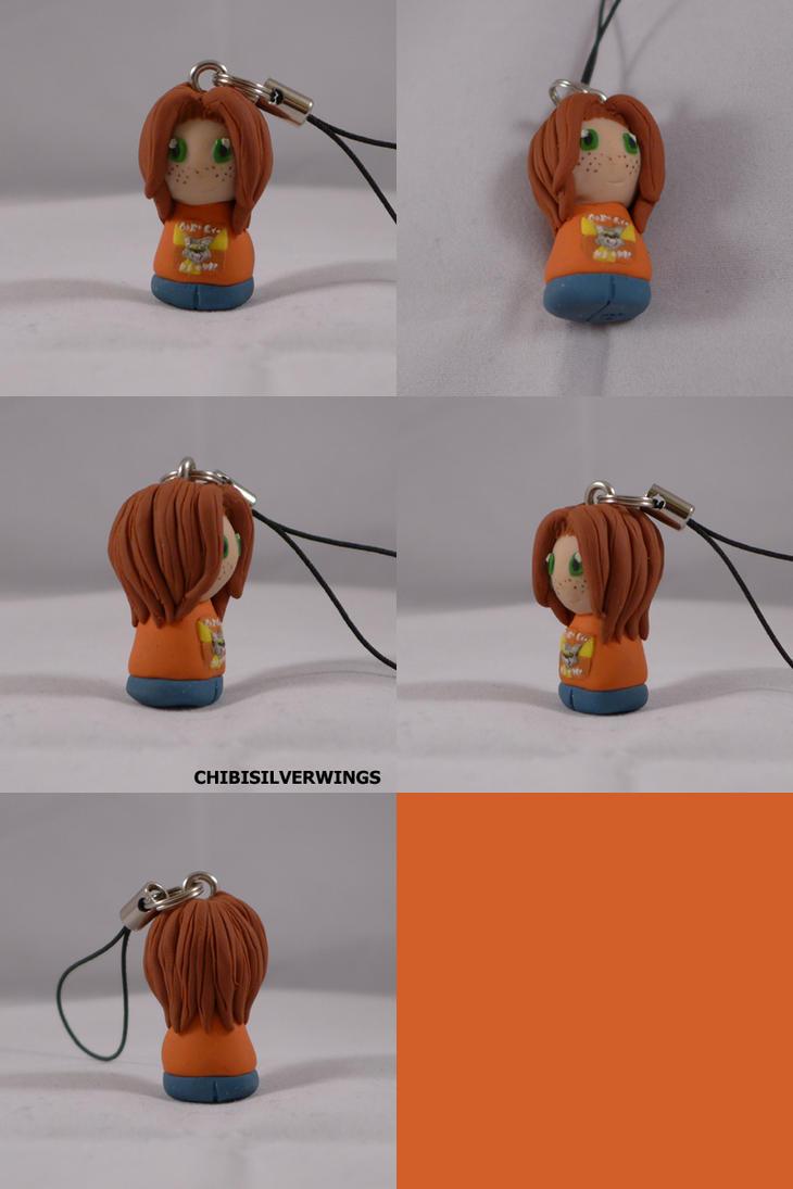 Tyler Dawn Keychain by ChibiSilverWings