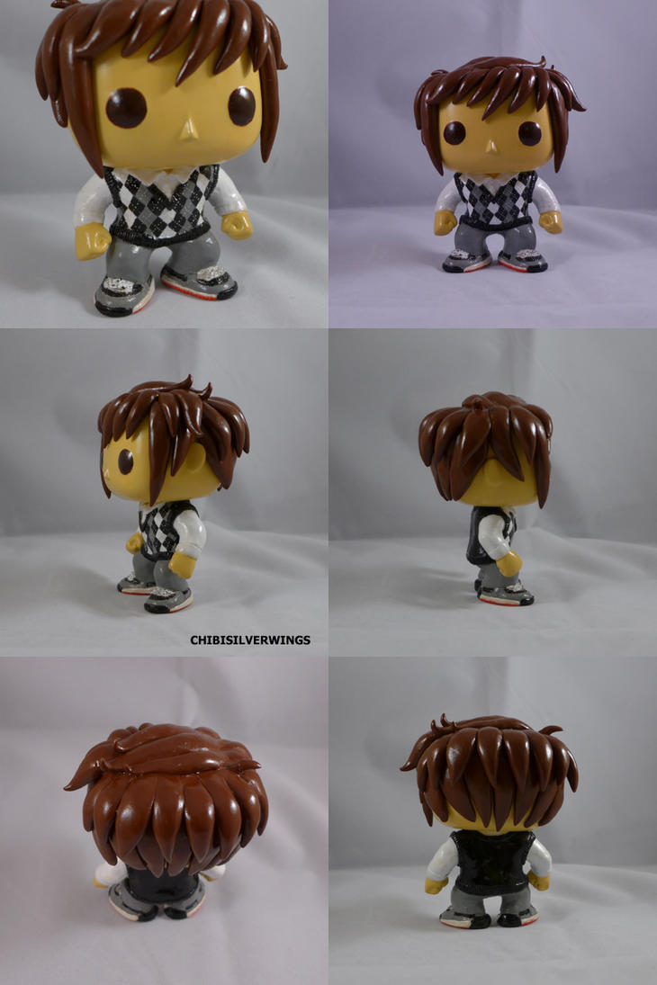 Billy Thatcher Custom Funko Figurine by ChibiSilverWings