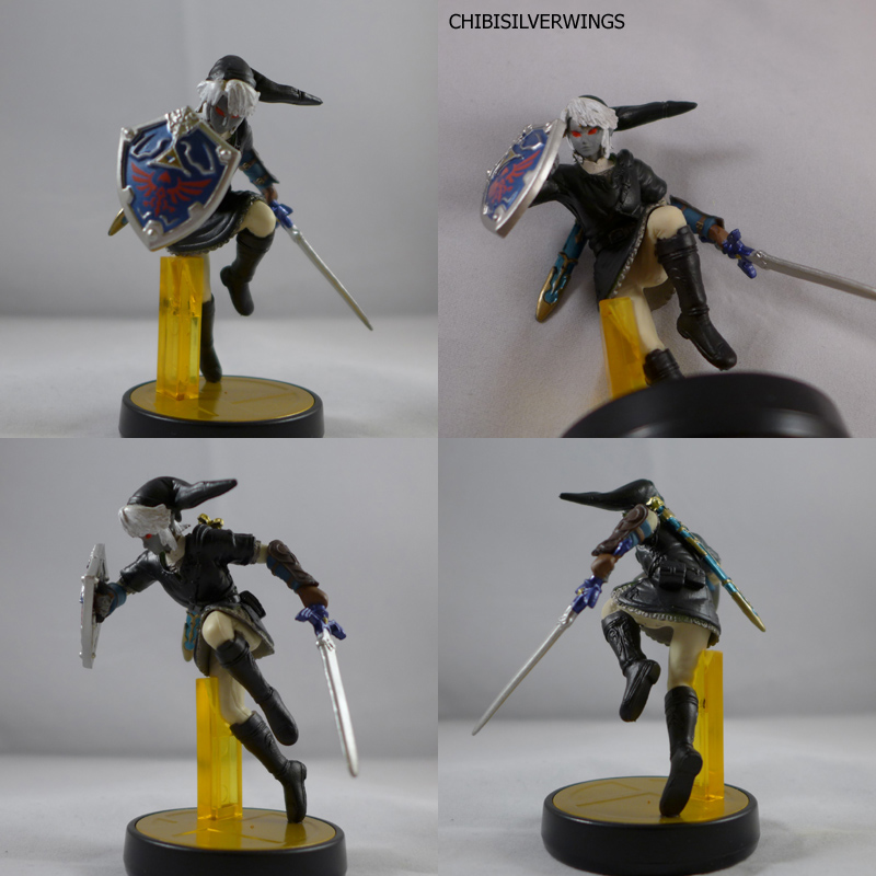 Dark Link Amiibo by ChibiSilverWings