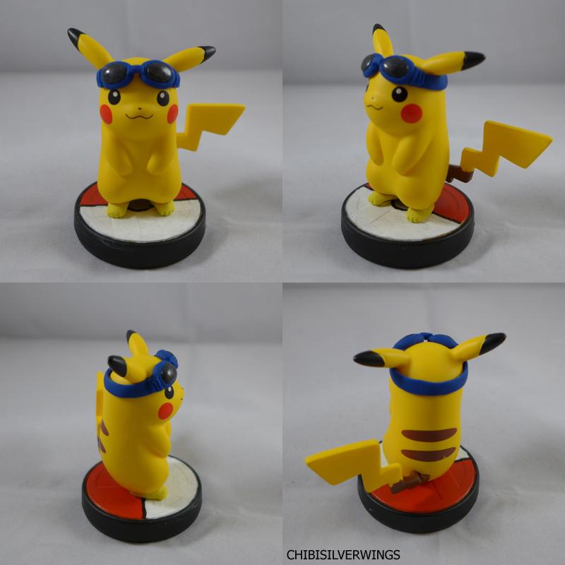 Pikachu Goggles Amiibo by ChibiSilverWings