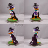 Disney Infinity Donald Darkwing Duck Mod by ChibiSilverWings