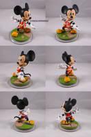 King Mickey Kingdom Hearts Disney Infinity Custom by ChibiSilverWings