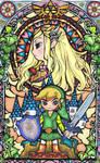 Zelda Stained Glass Window