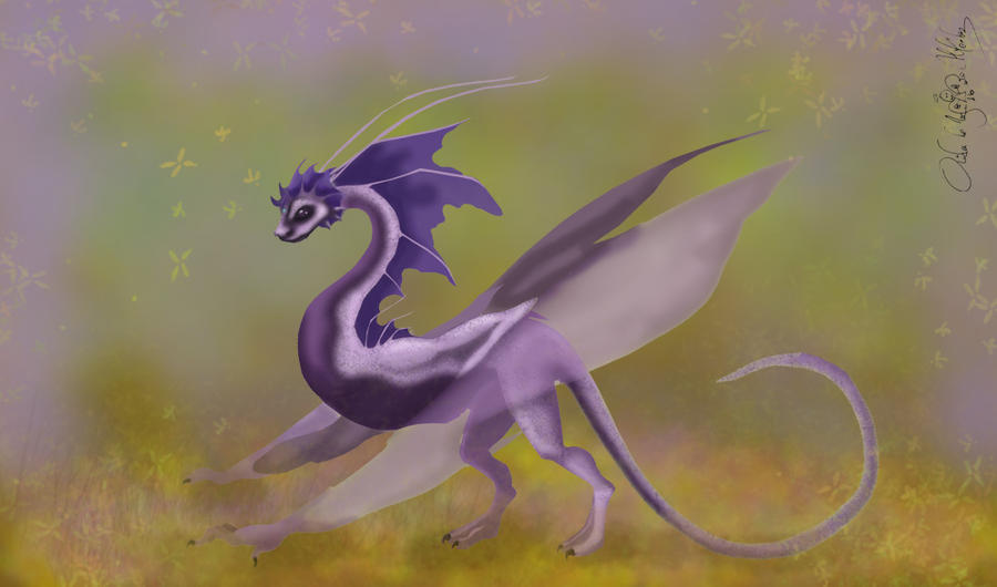 Bat Dragon by aiduqui on Devia...