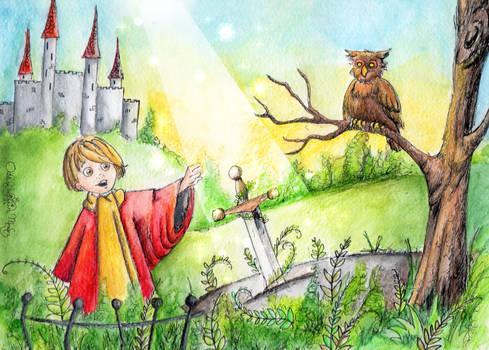 Arturo y Excalibur