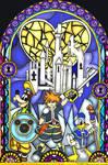 Kingdom Hearts Stained Glass Window