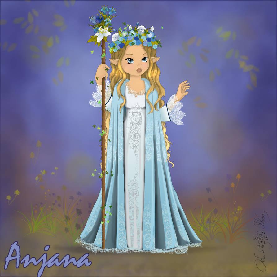 Anjana by aiduqui