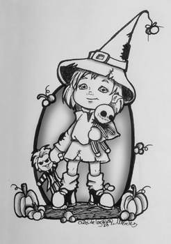 Inktober 2016/2: Witch