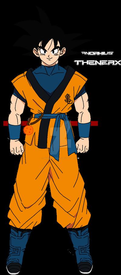 Son Goku Dragon Ball Unleashed Shintani Style By Anorkius