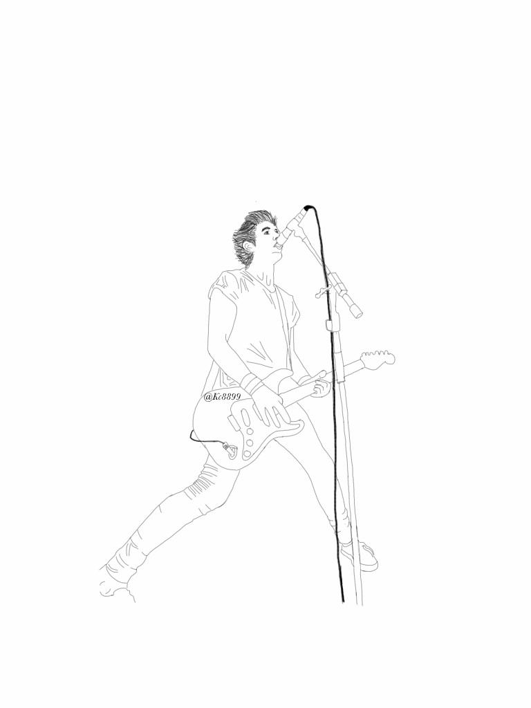 Luke Hemmings Playing Guitar