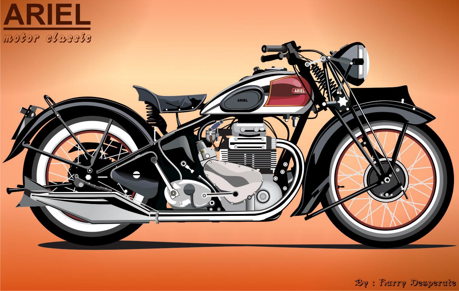 Ariel Motor Klasik By Harrypotro On Deviantart
