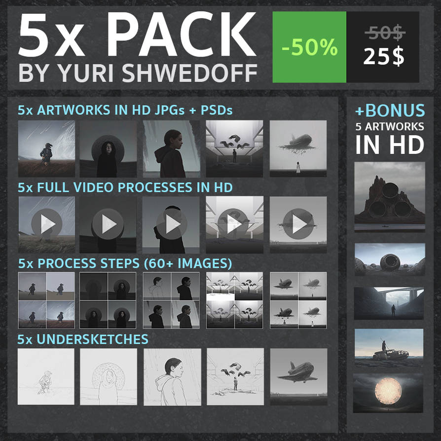 5 Pack Cover by YURISHWEDOFF