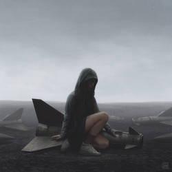 Fallen birds by YURISHWEDOFF