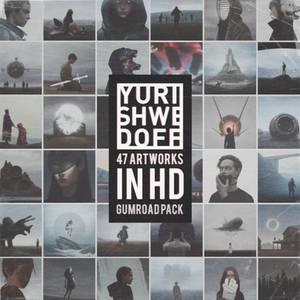 47 ARTWORKS in HD by Yuri Shwedoff Gumroad pack